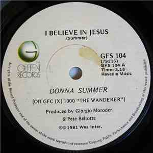 Donna Summer - I Believe In Jesus / Running For Cover mp3 flac