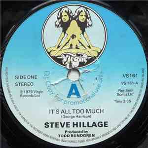 Steve Hillage - It's All Too Much mp3 flac
