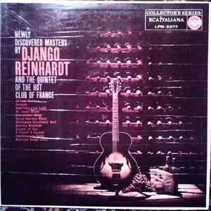 Django Reinhardt - Newly Discovered Masters By Django Reinhardt And The Quintet Of The Hot Club Of France mp3 flac