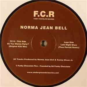 Norma Jean Bell - Do You Wanna Party ? / Late Night Show mp3 flac