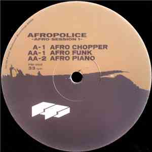 Afropolice - Afro Session 1 mp3 flac