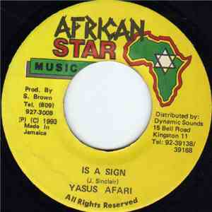 Yasus Afari - Is A Sign mp3 flac