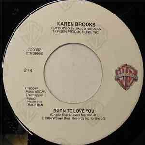 Karen Brooks - Born To Love You mp3 flac