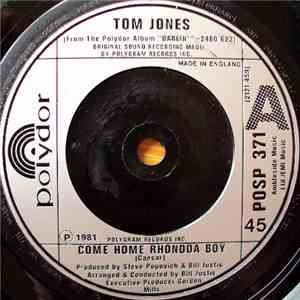 Tom Jones - Come Home Rhondda Boy mp3 flac