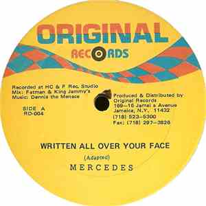 Mercedes  - Written All Over Your Face mp3 flac