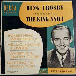 Bing Crosby - Bing Crosby Sings Song Hits From The King And I mp3 flac