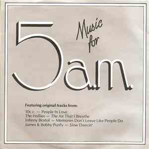 Various - Music For 5a.m. mp3 flac