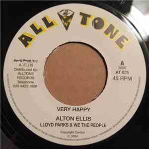Alton Ellis, Lloyd Parks & We The People - Very Happy mp3 flac