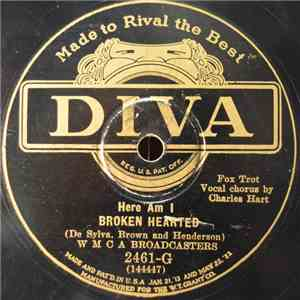 WMCA Broadcasters - Here Am I Broken Hearted / Somebody And Me! mp3 flac