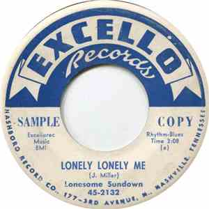 Lonesome Sundown - Lonely Lonely Me / I'm A Mojo Man mp3 flac