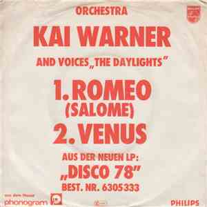 Orchester Kai Warner And Voices The Daylights  - Romeo mp3 flac